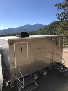 luxury bathroom rentals four stall cellar series medford grants pass southern oregon